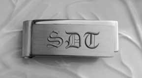 Contemporary Stainless Steel Money Clip