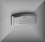 Custom Engraved Stainless Steel Money Clip