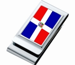 Double Sided Country Flag Money Clip