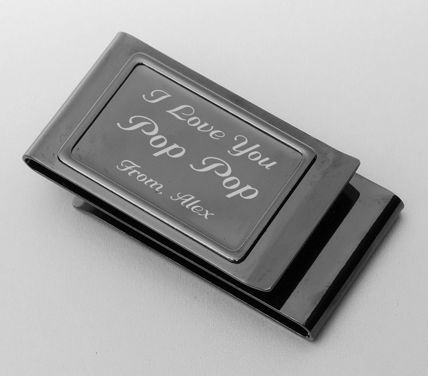 double sided money clip credit card holder - Money Clip Credit Card Holder