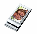 Double Sided Picture Money Clip & Credit Card Holder