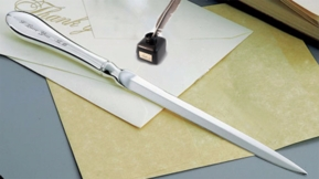 Lodve Note Silver Letter Opener