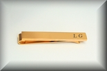 Gold High Polished Tie Clip