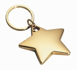 Gold Star Keychain
