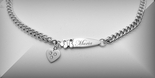 Heart Charm Children's Bracelet