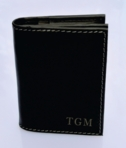 High Quality I-Fold Black Leather Wallet