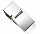 Hinged Silver Money Clip
