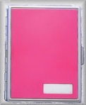 Hot Pink Cigarette Case
