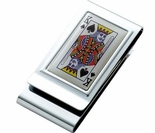 King Money Clip, Credit Card  Holder