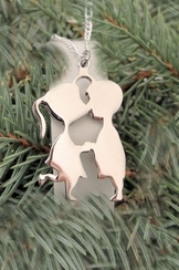 Kissin Couple Stainless Steel Necklace
