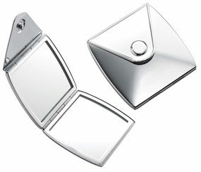 Latch Top Square Mirror Compact