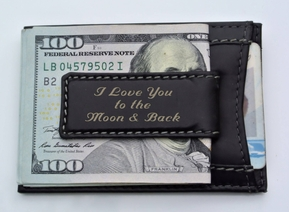 Slim Card Case with Magnetic Money Clip