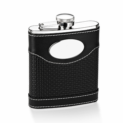Leather Flask 6 oz