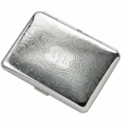 Paisley Double Sided Cigarette Case