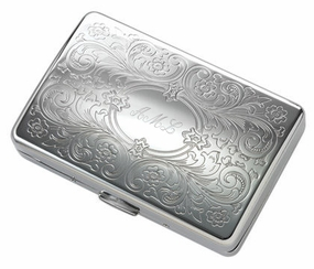 Paisley Long Double Sided Cigarette Case