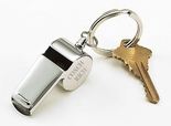 Personalized Coach Whistle Keychain