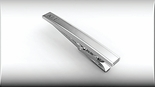 Two Tone Verona Stainless Steel Tie Clip