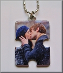 Photo Puzzle Necklace Charm