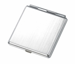Polished Silver Mirror Compact