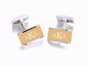Silver & Gold Two Tone Cufflinks