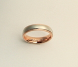 Silver & Rose Gold Ring