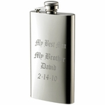 Slim Stainless Steel Flask 5 oz