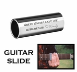 Stainless Steel Guitar Slide