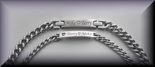 Stainless Steel His & Hers ID Bracelet Set