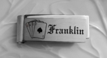 Stainless Steel Playing Card Money Clip