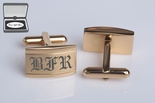Top Selling Gold Stainless Steel Cufflinks