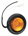 "1 LED Amber, 2"" Round Marker Light, Buyers 5622201"