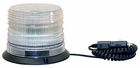 12-30 VDC Quad Flash LED Strobe Light Clear Lens (low profile) Buyers SL645CLP