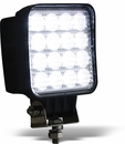 16 Clear LEDs, Square, Buyers 1492128