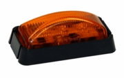 "2-1/2"" Rec. Marker Light, 3 LED Amber, Buyers 5622203"