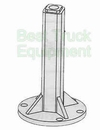 "2"" Shoe Post, replaces Bonnell 001372, Gledhill 3546-B, P/N 1317120"