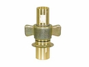 "3/4"" Wing Type Quick Detach Coupler, Male (18GPM) Buyers QDWC121"