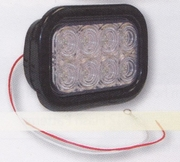 "32 LED Light  Clear, 5-1/3"" Rectangular, Buyers 5625332"