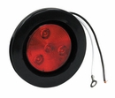 "4 LED Red, 2-1/2"" Round Marker Light, Buyers 5622514"