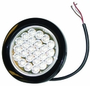 "4"" Round Clear Strobe Light, Recessed, Buyers SL40CR"