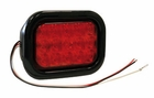 "5-1/3"" Rectangular Stop-Turn-Tail Light, 15 LED Red, Buyers 5625115"