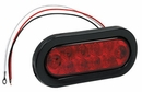"6-1/2"" Oval Stop-Turn-Tail Light, 10 LED Red, Buyers  5626510"