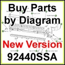 92440SSA (newest model) SaltDogg Electric UTG Spreader Parts by Diagram