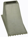 "Aluminum Wheel Chock, 6-1/4"" x 12-1/4"" x 7, Buyers WC1267"