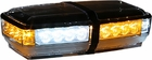 Amber/Clear LED Mini Lightbar, Buyers 8891052