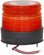 Amber Permanent Mount Strobe Lamp, Buyers B745229T