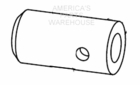 Auger Sleeve Adapter, P/N 3014858