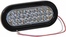 "Backup Light, 24 LED Clear, 6-1/2"" Oval, Buyers  5626324"