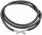 "Battery Cable, 60"" Black, replaces Fisher 5798, P/N 1306450"
