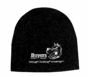 "Black Knit Hat  ""Buyers SaltDogg® SnowDogg® ScoopDogg®"" , Buyers  9901100"