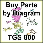Boss TGS 800 Spreader Parts & Diagram